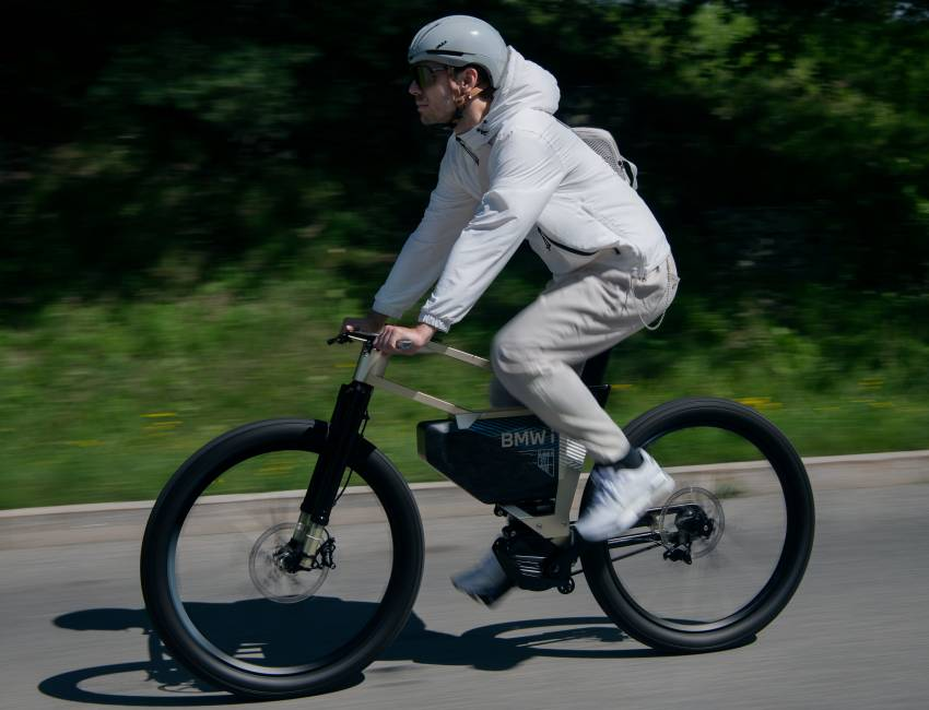 BMW i Vision AMBY, no electric bicycle, it's a pedalec Image #1342541