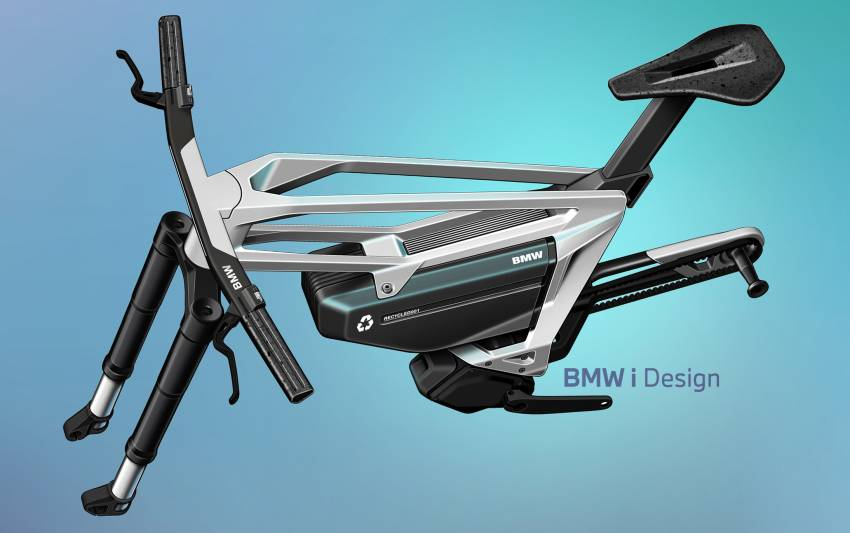 BMW i Vision AMBY, no electric bicycle, it's a pedalec Image #1342556