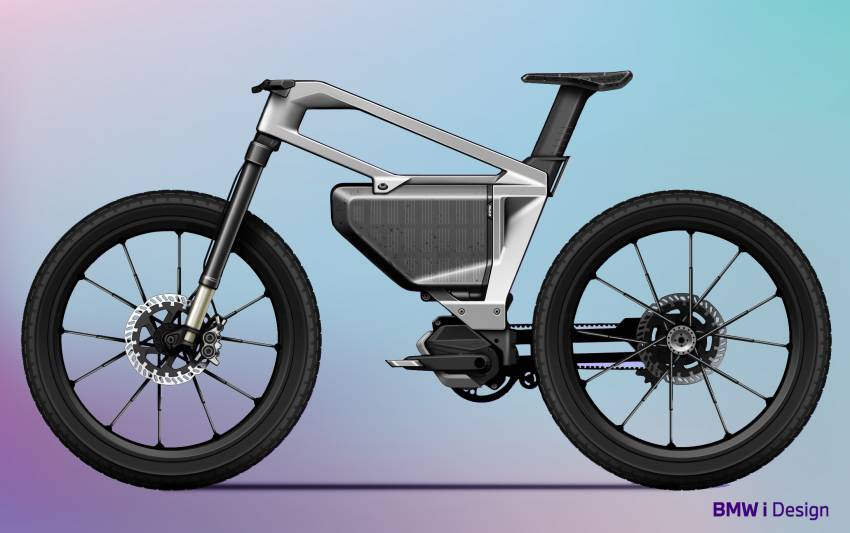 BMW i Vision AMBY, no electric bicycle, it's a pedalec Image #1342557