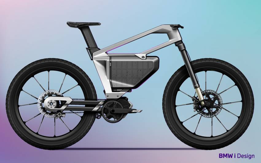 BMW i Vision AMBY, no electric bicycle, it's a pedalec Image #1342558
