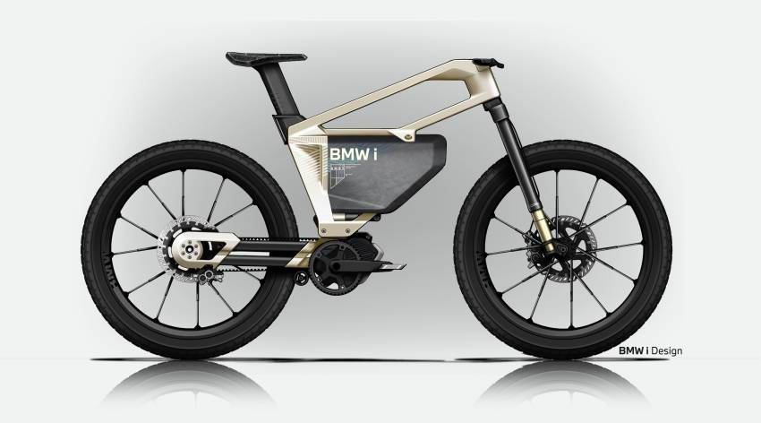 BMW i Vision AMBY, no electric bicycle, it's a pedalec Image #1342561