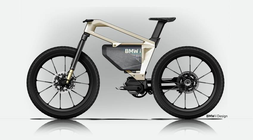 BMW i Vision AMBY, no electric bicycle, it's a pedalec Image #1342562