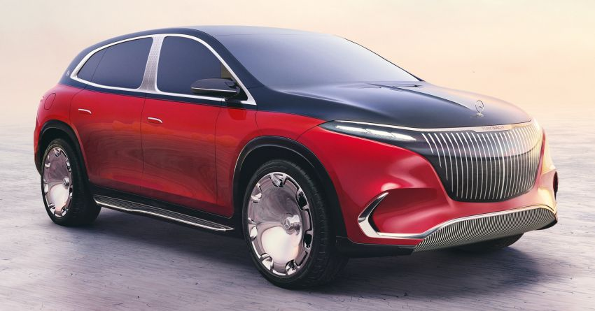 Concept Mercedes-Maybach EQS unveiled – first fully electric Maybach in 100 years, production set for 2022 Image #1341462