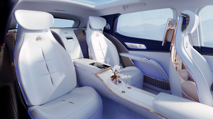 Concept Mercedes-Maybach EQS unveiled – first fully electric Maybach in 100 years, production set for 2022 Image #1341472