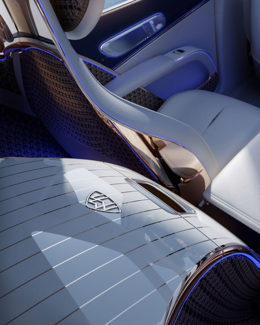 Concept Mercedes-Maybach EQS unveiled – first fully electric Maybach in 100 years, production set for 2022 Image #1341475