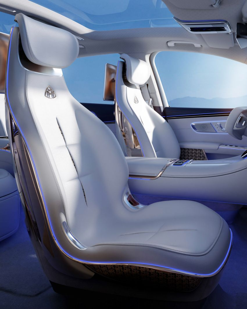 Concept Mercedes-Maybach EQS unveiled – first fully electric Maybach in 100 years, production set for 2022 Image #1341477