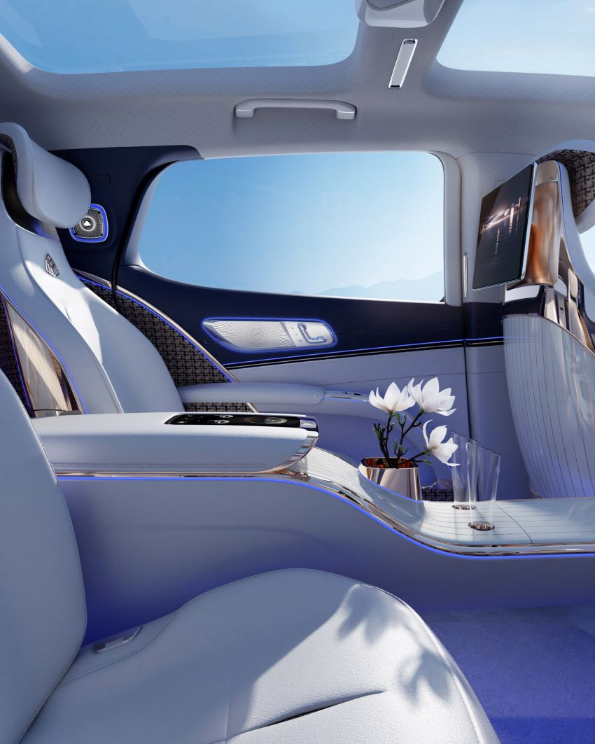 Concept Mercedes-Maybach EQS unveiled – first fully electric Maybach in 100 years, production set for 2022 Image #1341483