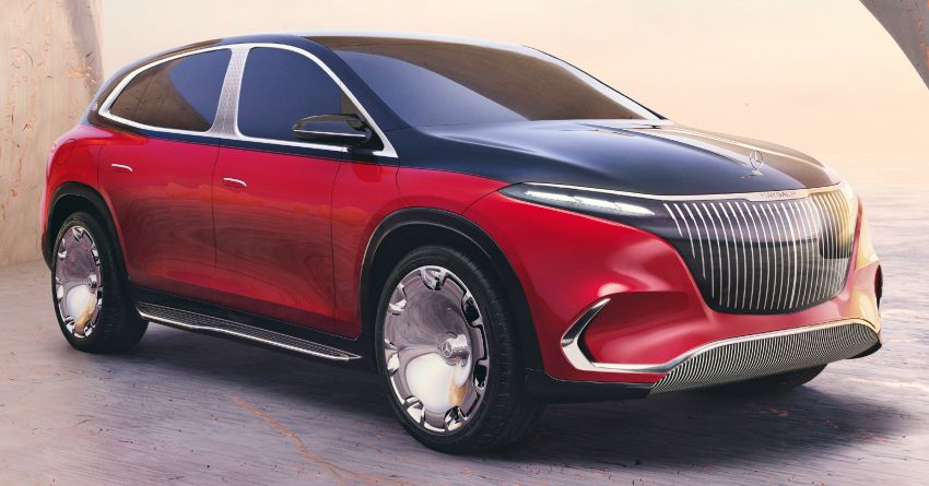 Concept Mercedes-Maybach EQS unveiled – first fully electric Maybach in 100 years, production set for 2022 Image #1341463