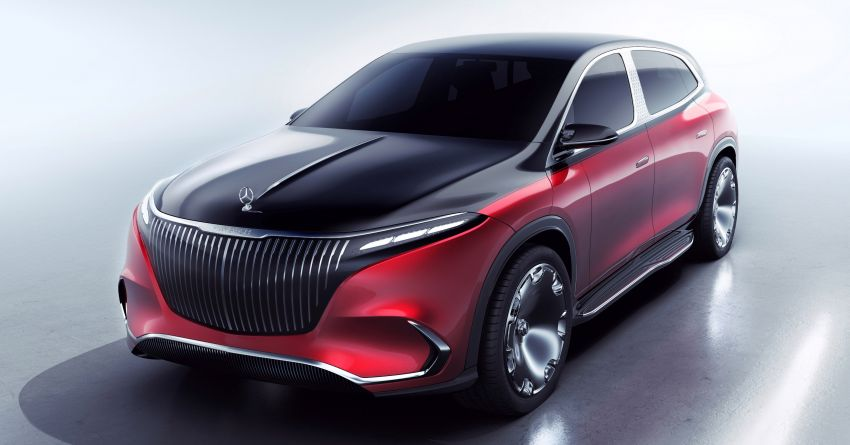 Concept Mercedes-Maybach EQS unveiled – first fully electric Maybach in 100 years, production set for 2022 Image #1341486