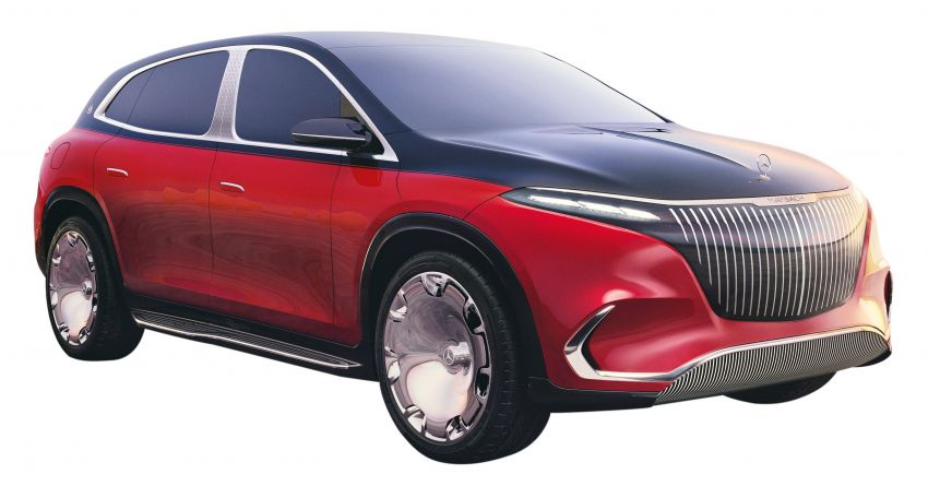 Concept Mercedes-Maybach EQS unveiled – first fully electric Maybach in 100 years, production set for 2022 Image #1341490