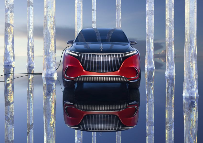 Concept Mercedes-Maybach EQS unveiled – first fully electric Maybach in 100 years, production set for 2022 Image #1341464