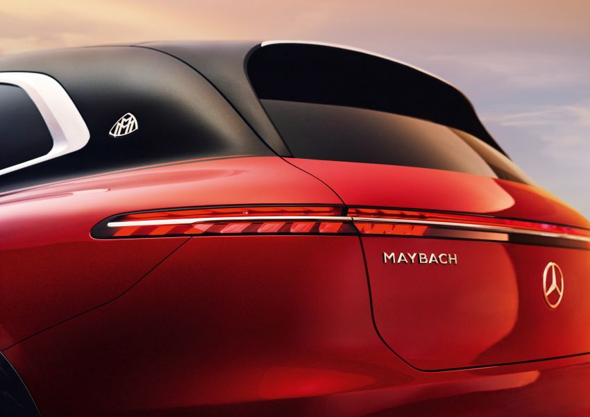 Concept Mercedes-Maybach EQS unveiled – first fully electric Maybach in 100 years, production set for 2022 Image #1341469