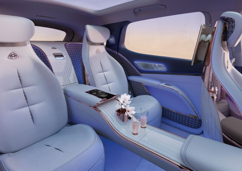 Concept Mercedes-Maybach EQS unveiled – first fully electric Maybach in 100 years, production set for 2022 Image #1341470