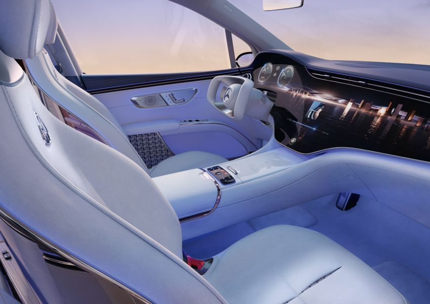 Concept Mercedes-Maybach EQS unveiled – first fully electric Maybach in 100 years, production set for 2022 Image #1341471