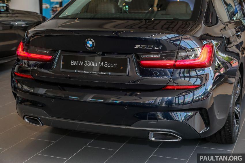 GALERI: BMW 330Li M Sport G28 2021 di M'sia – jarak roda panjang; ruang dalaman lebih besar; dari RM277k Image #1339315
