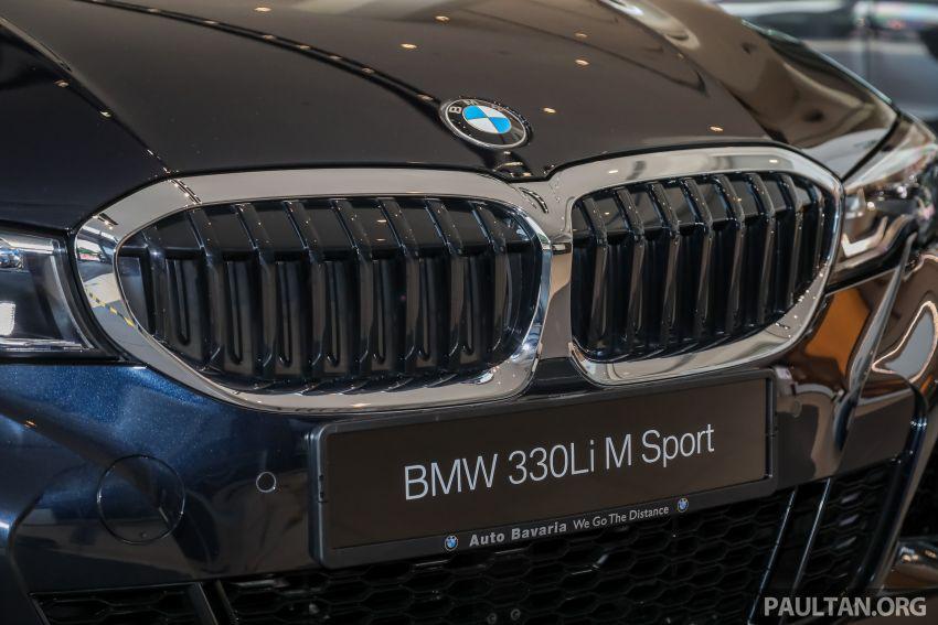 GALERI: BMW 330Li M Sport G28 2021 di M'sia – jarak roda panjang; ruang dalaman lebih besar; dari RM277k Image #1339296