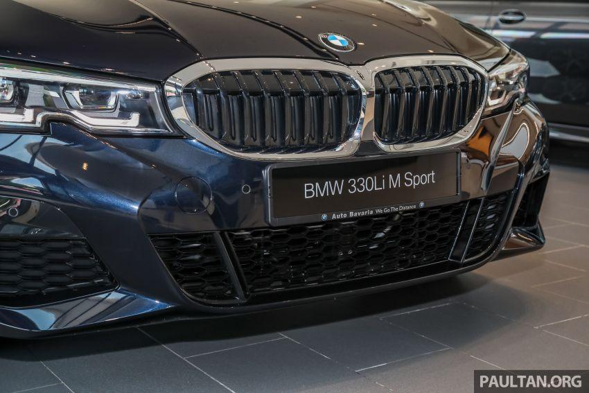 GALERI: BMW 330Li M Sport G28 2021 di M'sia – jarak roda panjang; ruang dalaman lebih besar; dari RM277k Image #1339297