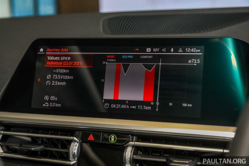 GALERI: BMW 330Li M Sport G28 2021 di M'sia – jarak roda panjang; ruang dalaman lebih besar; dari RM277k Image #1339380