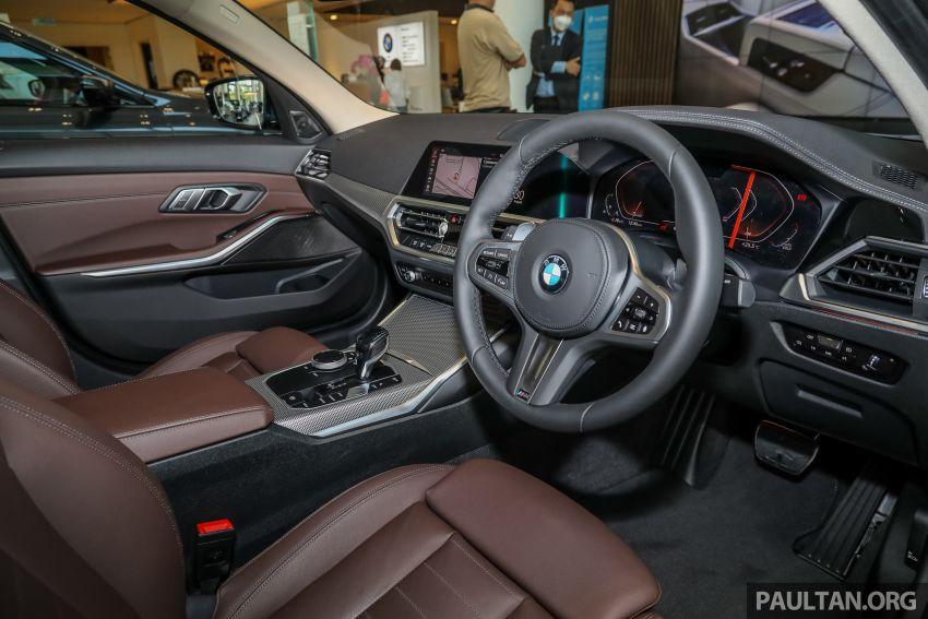 GALERI: BMW 330Li M Sport G28 2021 di M'sia – jarak roda panjang; ruang dalaman lebih besar; dari RM277k Image #1339338