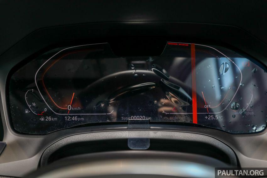 GALERI: BMW 330Li M Sport G28 2021 di M'sia – jarak roda panjang; ruang dalaman lebih besar; dari RM277k Image #1339340