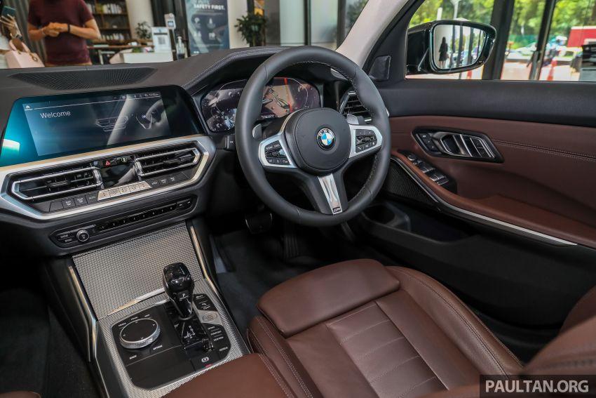 GALERI: BMW 330Li M Sport G28 2021 di M'sia – jarak roda panjang; ruang dalaman lebih besar; dari RM277k Image #1339447