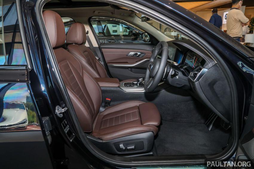 GALERI: BMW 330Li M Sport G28 2021 di M'sia – jarak roda panjang; ruang dalaman lebih besar; dari RM277k Image #1339448