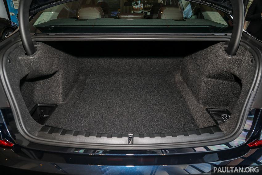 GALERI: BMW 330Li M Sport G28 2021 di M'sia – jarak roda panjang; ruang dalaman lebih besar; dari RM277k Image #1339462