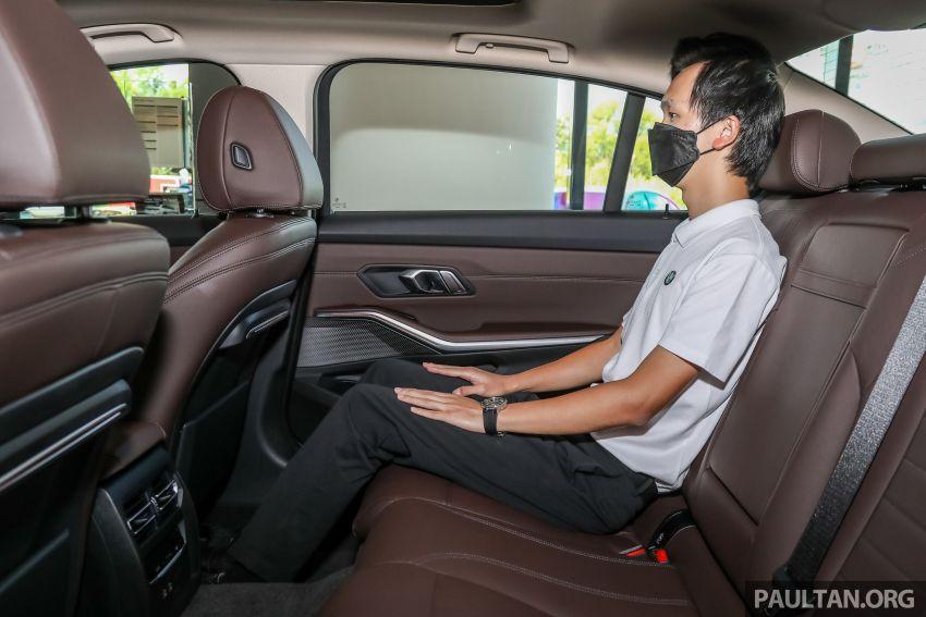 GALERI: BMW 330Li M Sport G28 2021 di M'sia – jarak roda panjang; ruang dalaman lebih besar; dari RM277k Image #1339463