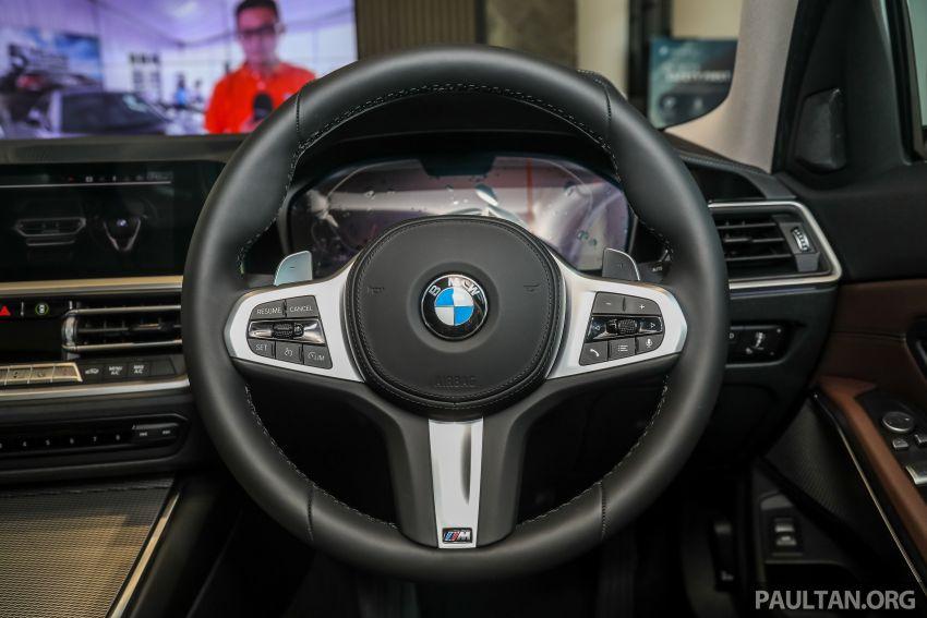 GALERI: BMW 330Li M Sport G28 2021 di M'sia – jarak roda panjang; ruang dalaman lebih besar; dari RM277k Image #1339351