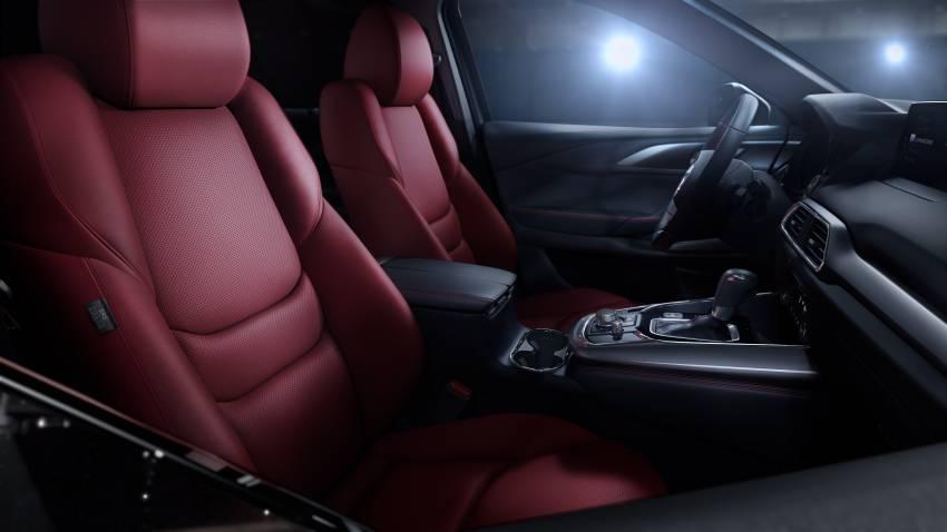 2021 Mazda CX-9 launched in Malaysia – new wireless Apple CarPlay, burgundy seats, Ignite Edition design Image #1345342