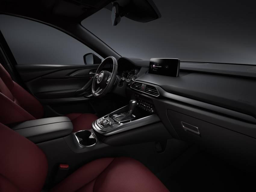 2021 Mazda CX-9 launched in Malaysia – new wireless Apple CarPlay, burgundy seats, Ignite Edition design Image #1345346