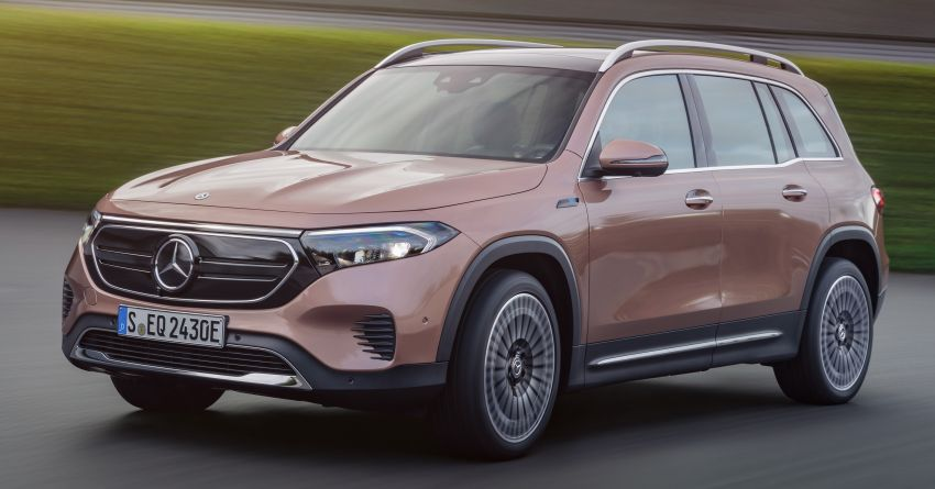 Mercedes-Benz EQB – seven-seat electric SUV detailed Image #1341575
