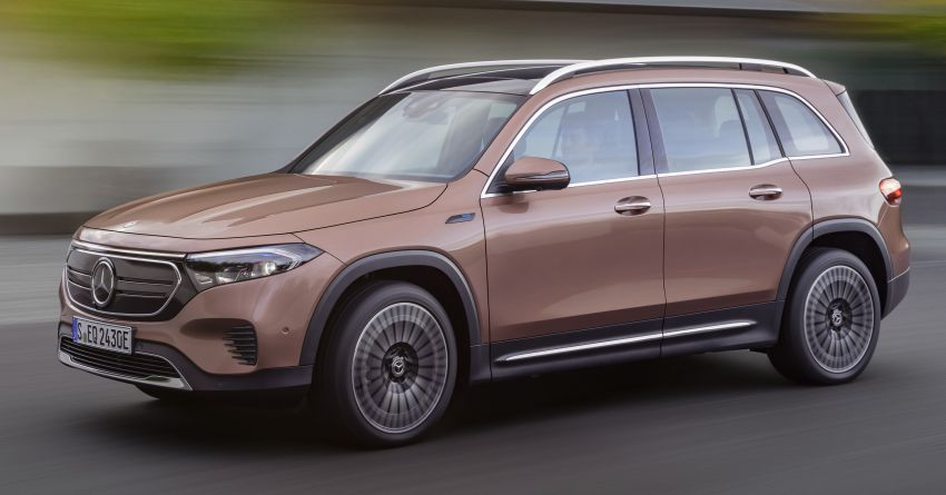 Mercedes-Benz EQB – seven-seat electric SUV detailed Image #1341576