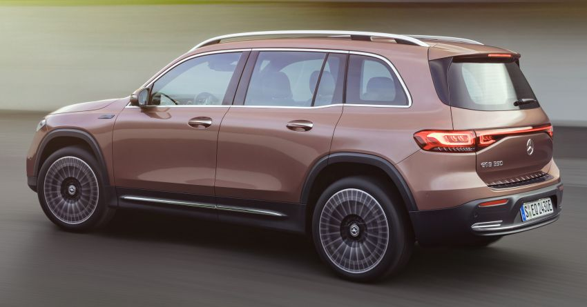 Mercedes-Benz EQB – seven-seat electric SUV detailed Image #1341577