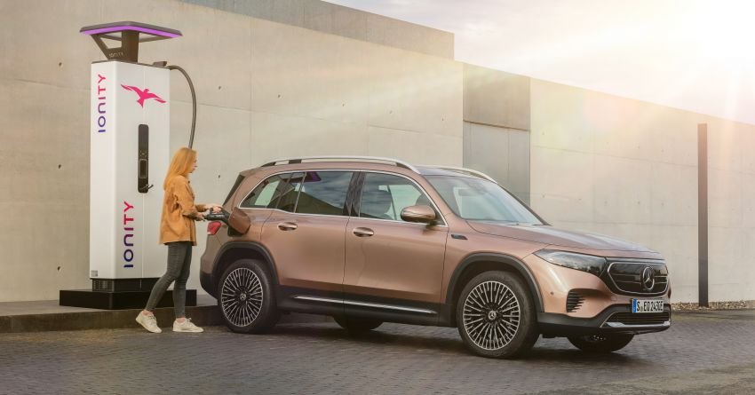 Mercedes-Benz EQB – seven-seat electric SUV detailed Image #1341578
