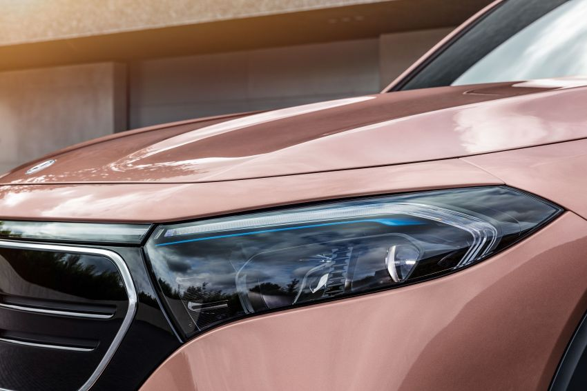 Mercedes-Benz EQB – seven-seat electric SUV detailed Image #1341582