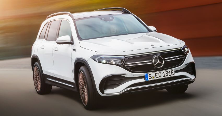 Mercedes-Benz EQB – seven-seat electric SUV detailed Image #1341583