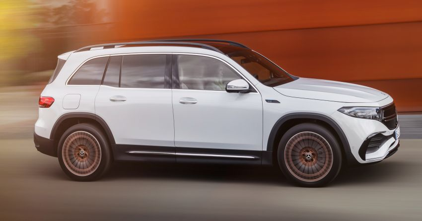 Mercedes-Benz EQB – seven-seat electric SUV detailed Image #1341584