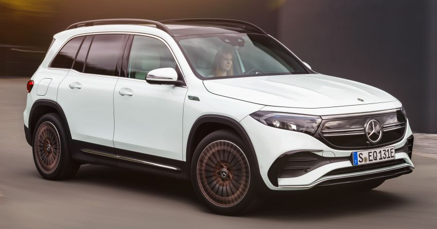 Mercedes-Benz EQB – seven-seat electric SUV detailed Image #1341585
