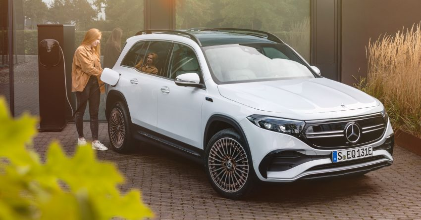 Mercedes-Benz EQB – seven-seat electric SUV detailed Image #1341590
