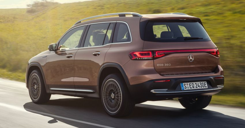 Mercedes-Benz EQB – seven-seat electric SUV detailed Image #1341591