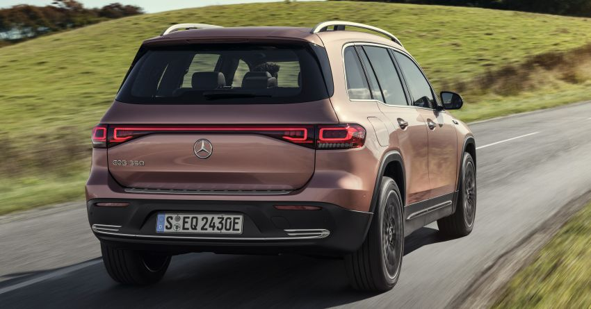 Mercedes-Benz EQB – seven-seat electric SUV detailed Image #1341592