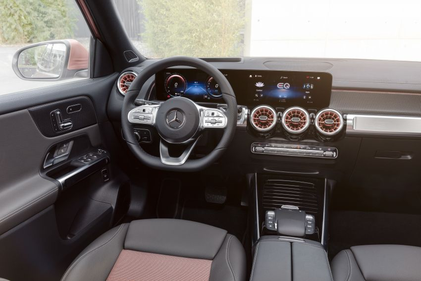 Mercedes-Benz EQB – seven-seat electric SUV detailed Image #1341566