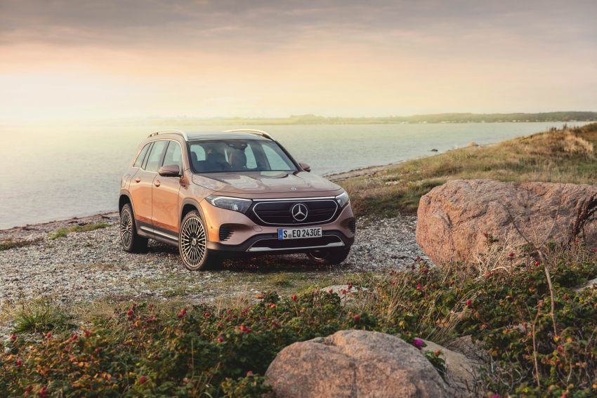 Mercedes-Benz EQB – seven-seat electric SUV detailed Image #1341596
