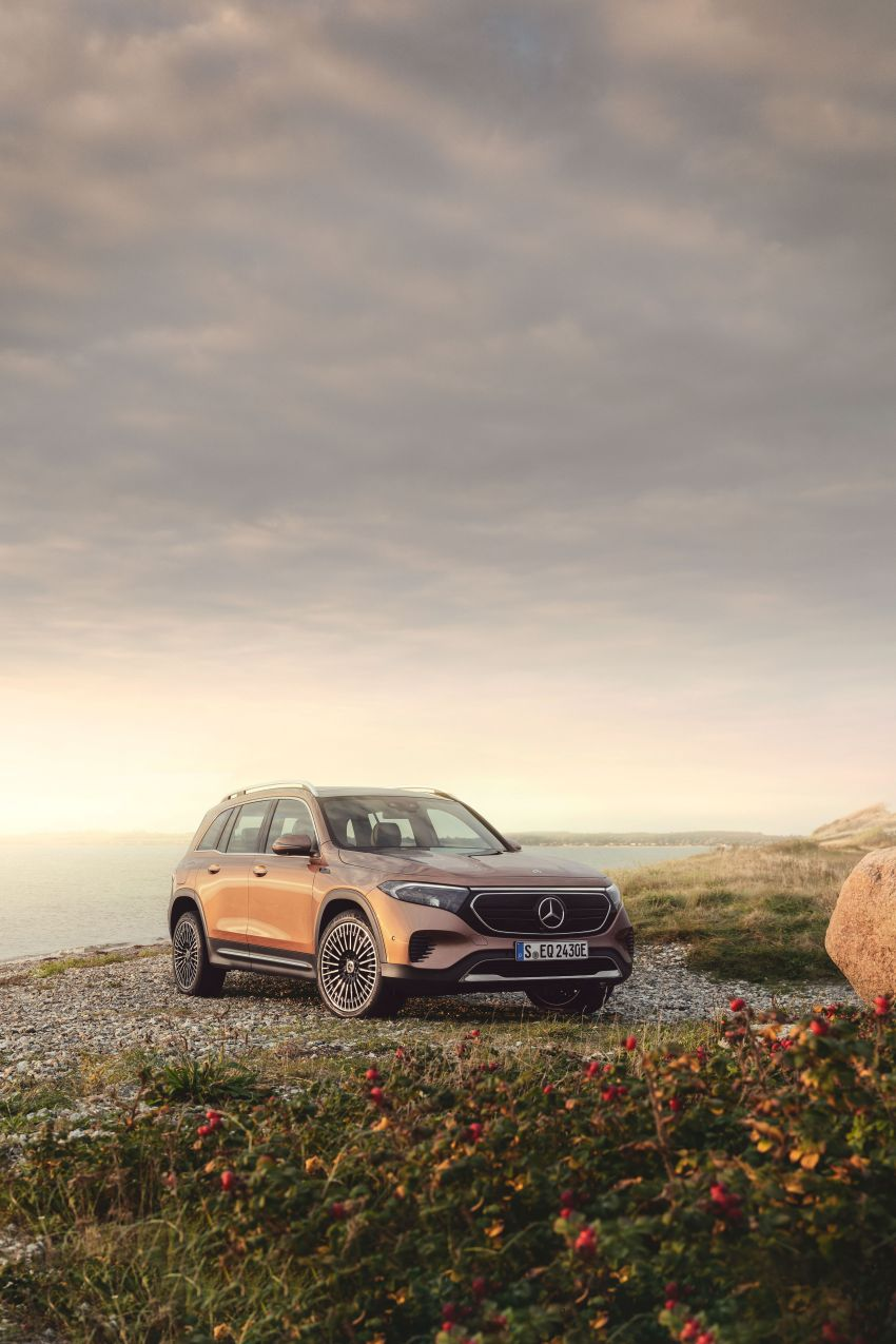 Mercedes-Benz EQB – seven-seat electric SUV detailed Image #1341597