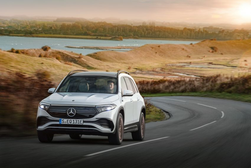Mercedes-Benz EQB – seven-seat electric SUV detailed Image #1341598