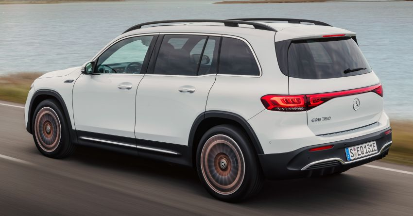 Mercedes-Benz EQB – seven-seat electric SUV detailed Image #1341600