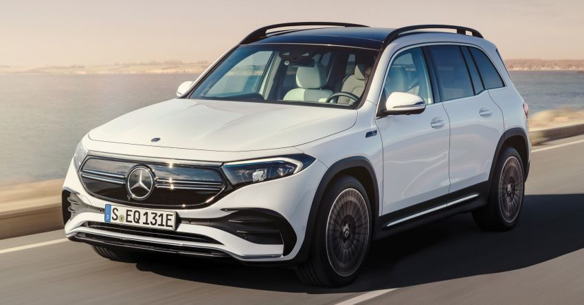 Mercedes-Benz EQB – seven-seat electric SUV detailed Image #1341601