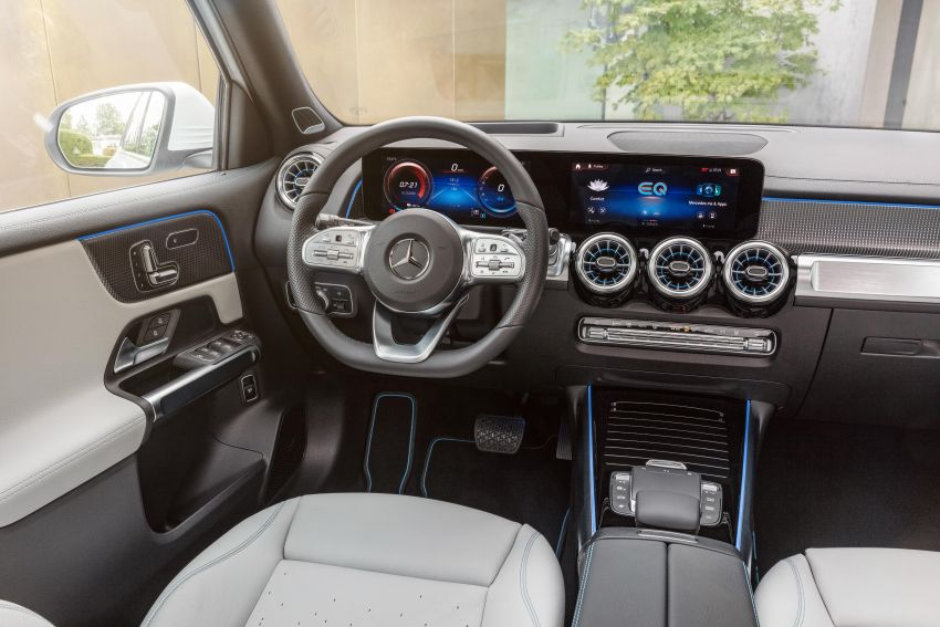 Mercedes-Benz EQB – seven-seat electric SUV detailed Image #1341604