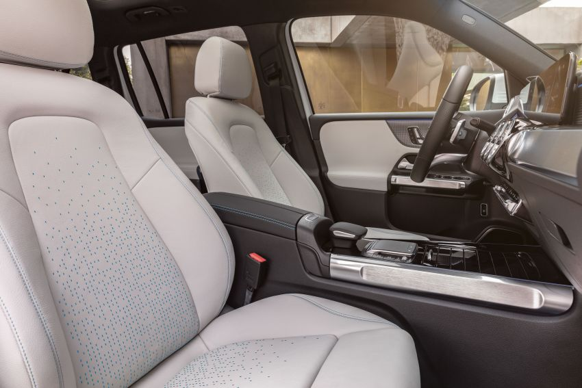 Mercedes-Benz EQB – seven-seat electric SUV detailed Image #1341605